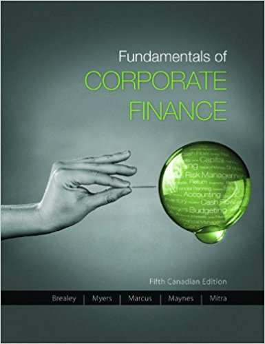 solution manual for Fundamentals of Corporate Finance 5th Canadian edition的图片 1