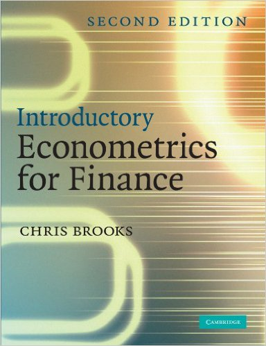 solution manual for Introductory Econometrics for Finance 2nd Edition的图片 1