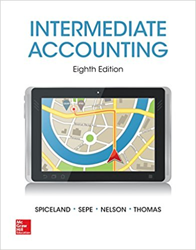 test bank for Intermediate Accounting 8th Edition by J. David Spiceland的图片 1