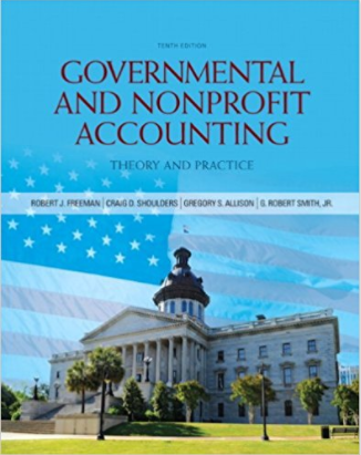 solution manual for Governmental and Nonprofit Accounting 10th Edition的图片 1