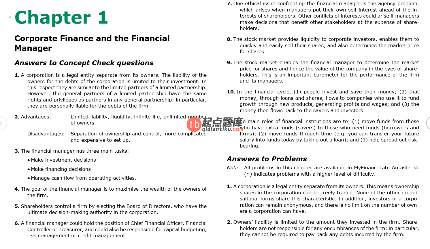solution manual for Fundamentals of Corporate Finance 2nd Australian Edition的图片 4