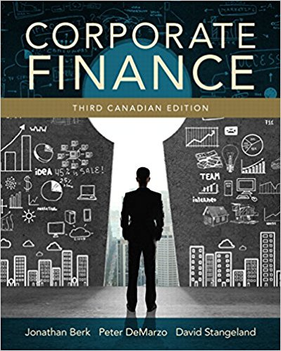 solution manual for Corporate Finance 3rd Canadian Edition的图片 1