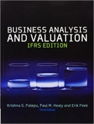 solution manual for Business Analysis & Valuation IFRS Text and Cases 3rd Edition