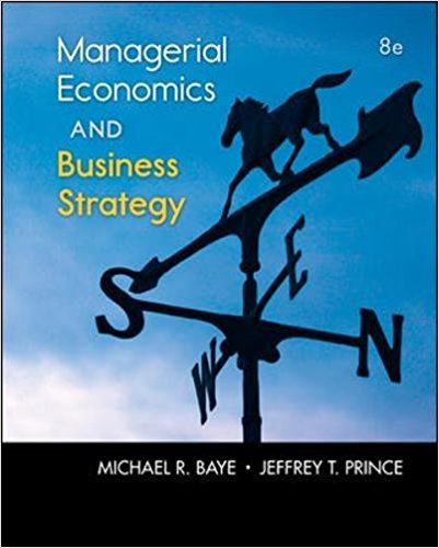 solution manual for Managerial Economics & Business Strategy 8th Edition的图片 1