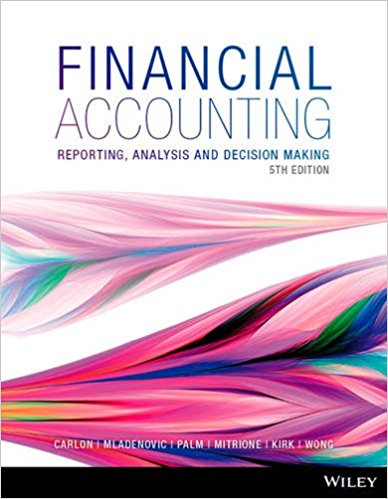 solution manual for Financial Accounting: Reporting, Analysis and Decision Making 5th Edition的图片 1