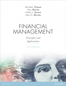 solution manual for Financial Management: Principles and Applications 7th Edition的图片 1