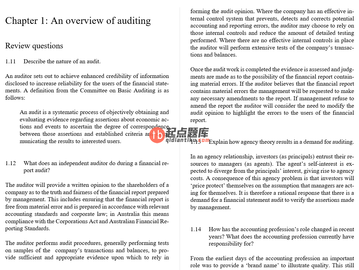 solution manual for Modern Auditing and Assurance Services 6th edition的图片 3