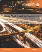 solution manual for Linear Algebra and Its Applications 5th Global Edition