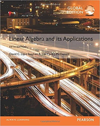 solution manual for Linear Algebra and Its Applications 5th Global Edition的图片 1