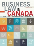 solution manual for Business Law in Canada 11th Canadian Edition