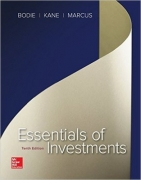 test bank for Essentials of Investments 10th Edition