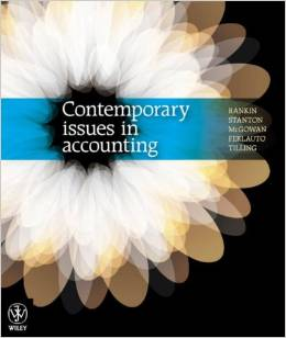 test bank for Contemporary Issues in Accounting 1st Edition的图片 1