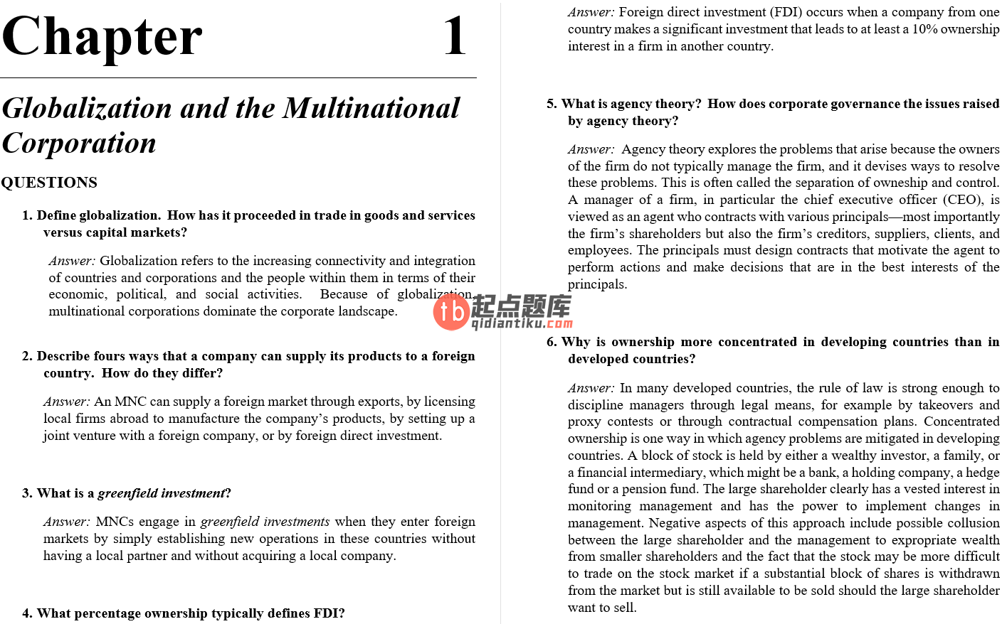 solution manual for International Financial Management 2nd Edition的图片 3