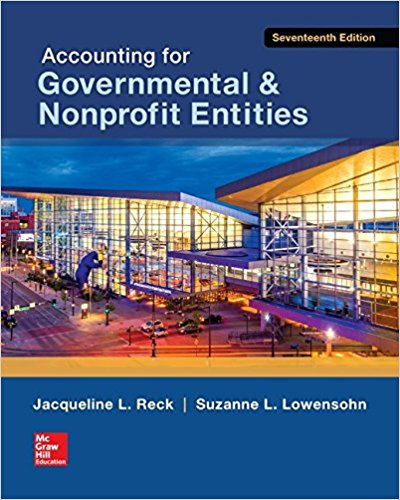 test bank for Accounting for Governmental & Nonprofit Entities 17th Edition的图片 1