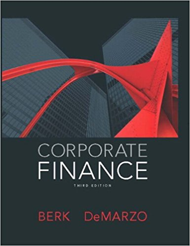 solution manual for Corporate Finance 3rd Edition的图片 1