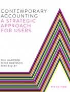 solution manual for Contemporary Accounting: A Strategic Approach for Users 9th Edition