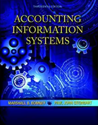 solution manual for Accounting Information Systems 13th Edition的图片 1