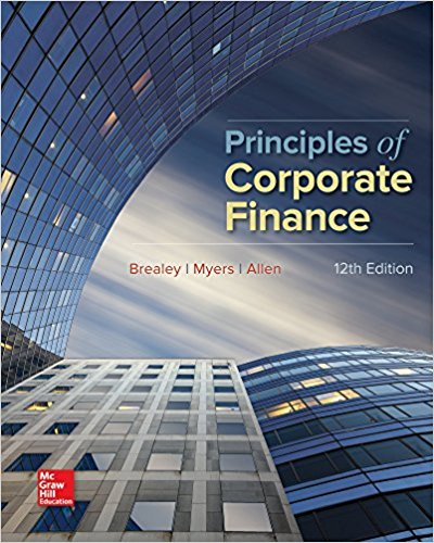 solution manual for Principles of Corporate Finance 12th Edition的图片 1