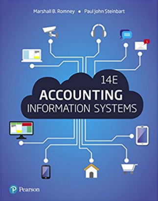solution manual for Accounting Information Systems 14th Edition的图片 1