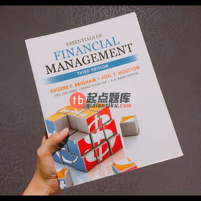 test bank for Essentials of Financial Management 3rd Edition的图片 1