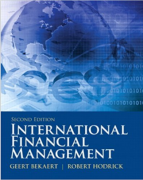 test bank for International Financial Management 2nd Edition
