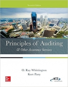 test bank for Principles of Auditing and Other Assurance Services 20th edition