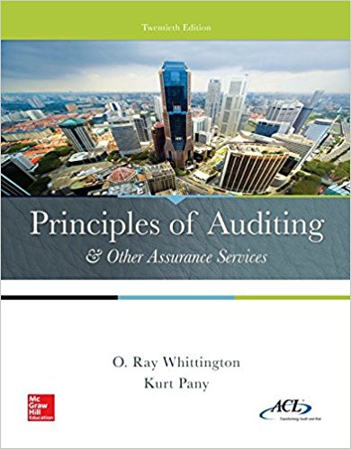 solution manual for Principles of Auditing and Other Assurance Services 20th edition的图片 1