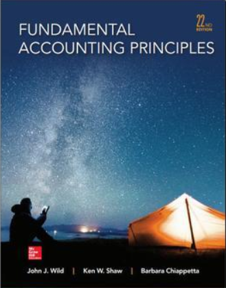 test bank for Fundamental Accounting Principles 22nd Edition的图片 1