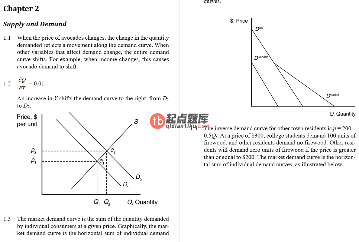 solution manual for Managerial Economics and Strategy 1st Edition的图片 4