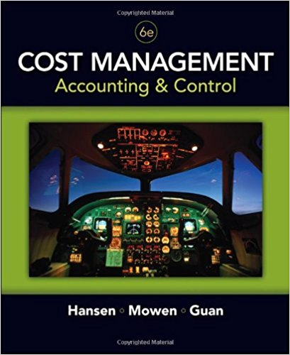 test bank for Cost Management: Accounting and Control 6th edition的图片 1