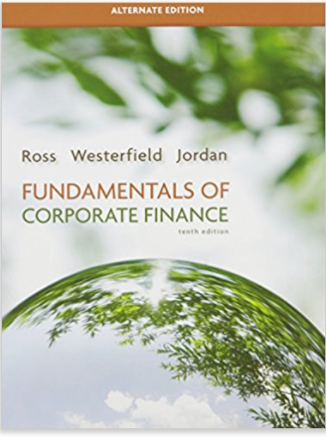 test bank for Fundamentals of Corporate Finance 10th Alternate Edition的图片 1