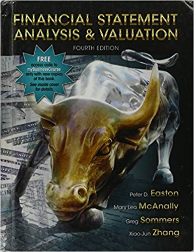 test bank for Financial Statement Analysis and Valuation 4th Edition的图片 1