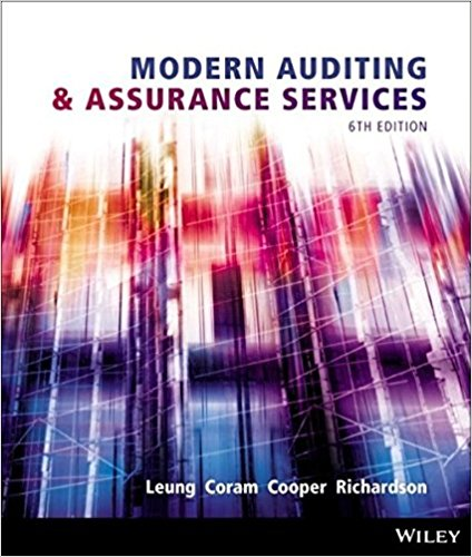 solution manual for Modern Auditing and Assurance Services 6th edition的图片 1