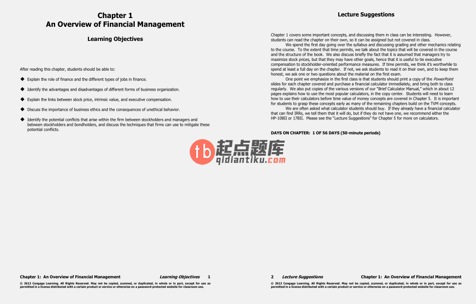 solution manual for Essentials of Financial Management 3rd Edition的图片 3