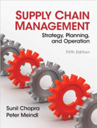 solution manual for Supply Chain Management 5th Edition