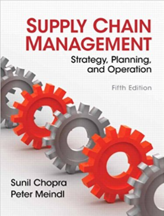 solution manual for Supply Chain Management 5th Edition的图片 1