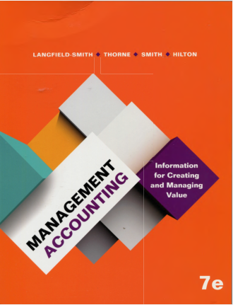 test bank for Management Accounting: Information for Managing and Creating Value 7th edition的图片 1