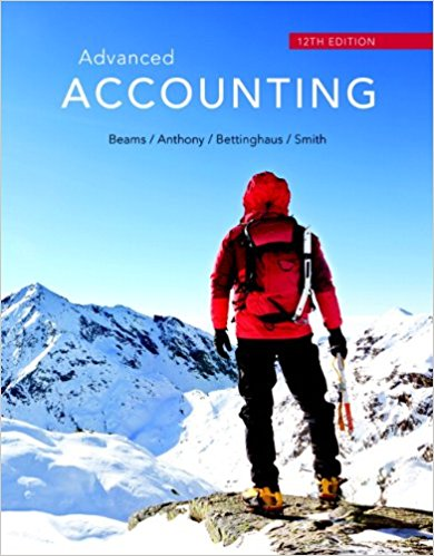 solution manual for Advanced Accounting 12th Edition by Floyd A. Beams的图片 1
