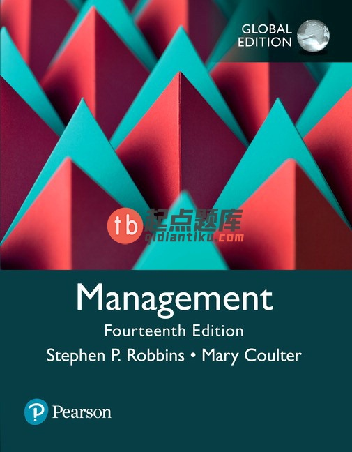 solution manual for Management Global 14th Edition by Stephen P. Robbins的图片 1