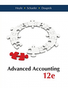 solution manual for Advanced Accounting 12th Edition by Joe Ben Hoyle