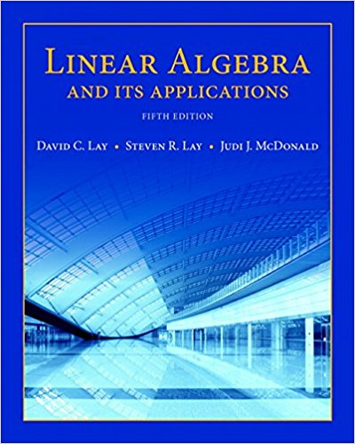 solution manual for Linear Algebra and Its Applications 5th Edition的图片 1