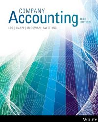 solution manual for Company Accounting 10th Edition的图片 1