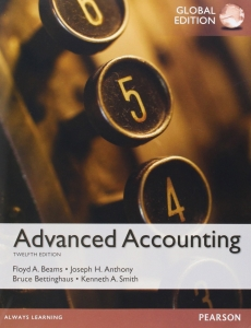 test bank for Advanced Accounting 12th Global Edition的图片 1