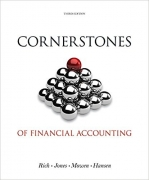 solution manual for Cornerstones of Financial Accounting 3rd edition