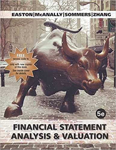 Financial Statement Analysis and Valuation 5th edition的图片 1