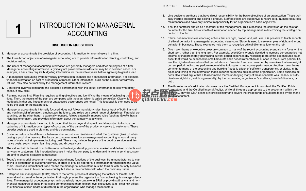 solution manual for Cornerstones of Managerial Accounting 5th Edition的图片 3