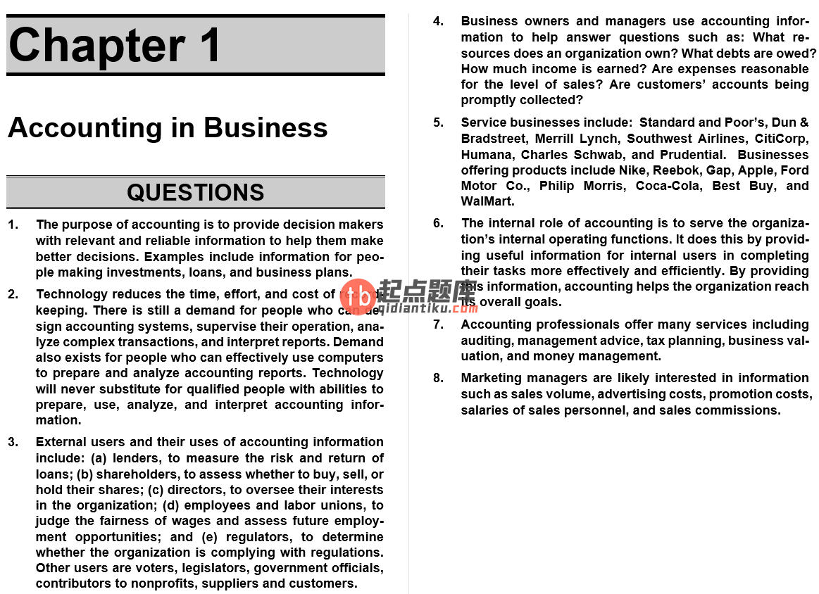 solution manual for Fundamental Accounting Principles 22nd Edition的图片 3