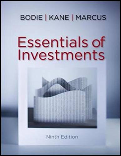 Essentials of Investments 9th Edition test bank+solution manual+中文书+PPT 合集下载的图片 1