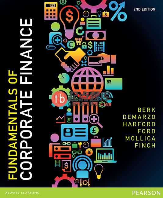 solution manual for Fundamentals of Corporate Finance 2nd Australian Edition的图片 1