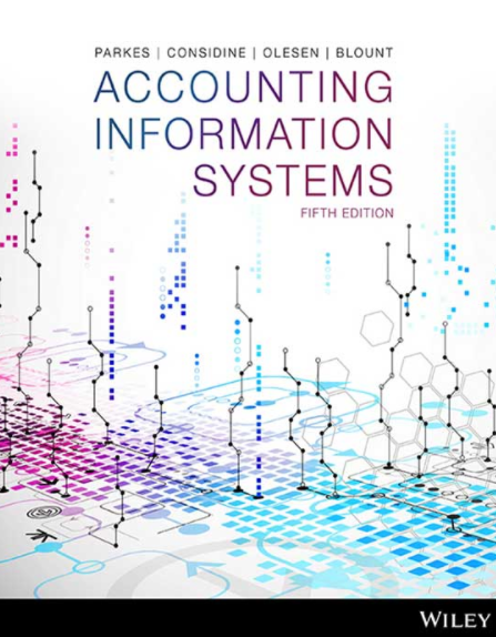 solution manual for Accounting Information Systems 5th Edition的图片 1